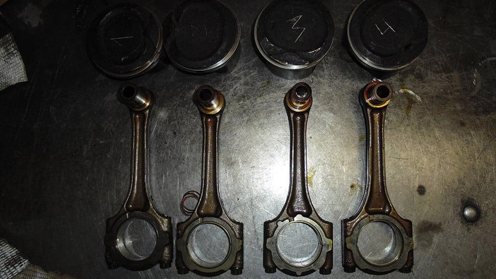 ремонт двигателя пежо